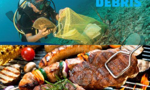 Event Dive Aganist Debris & Taste